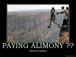 Getting out of alimony