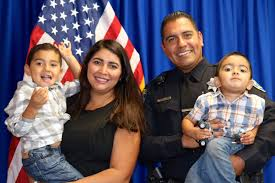 Officer & Family