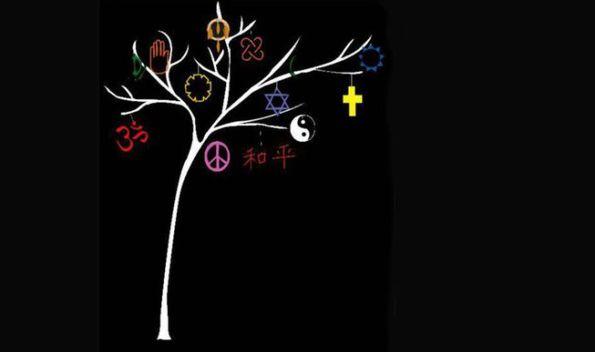 Winter holidays tree